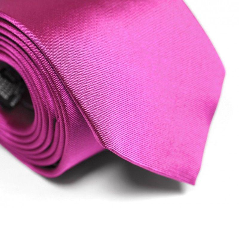Cravate magenta - Milan II