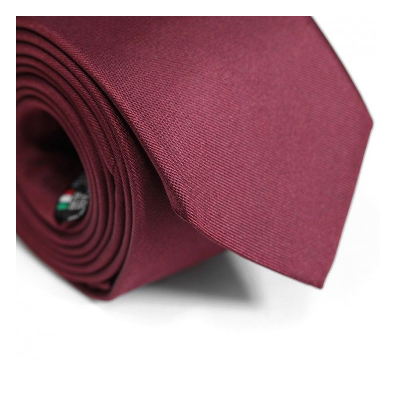 Cravate bordeaux - Milan II