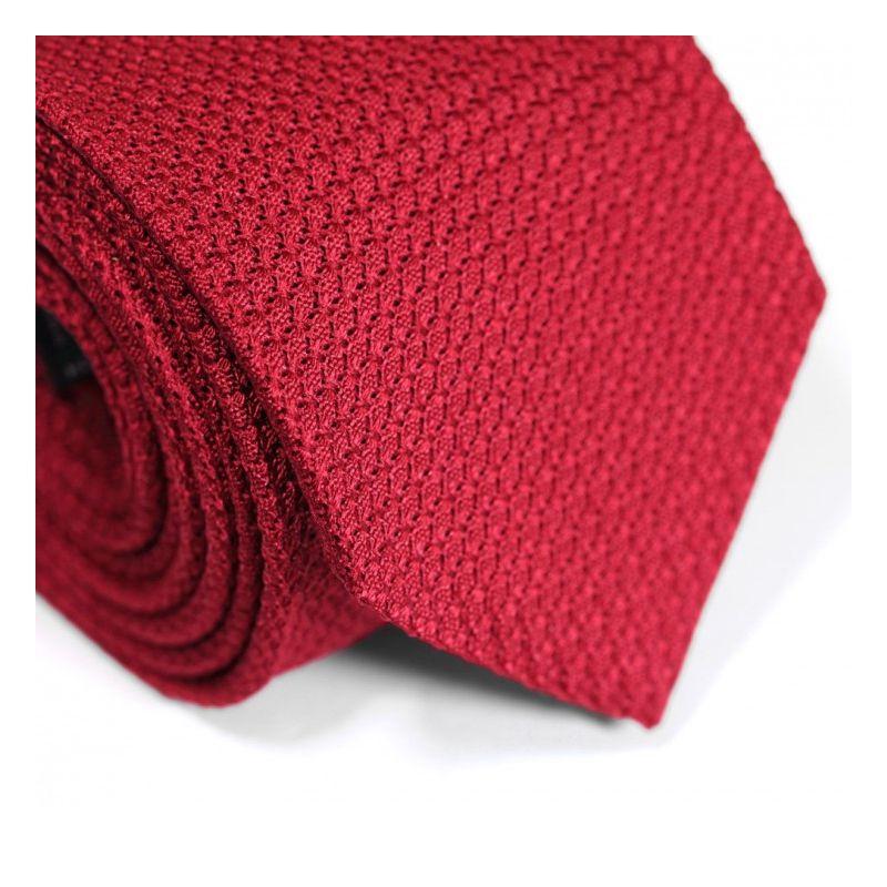 Cravate grenadine de soie rouge The Nines - Grenadines III