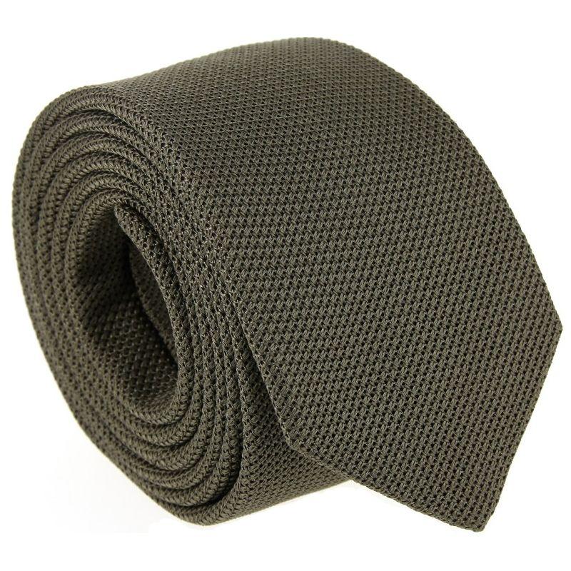 Cravate grenadine de soie gris sauvage The Nines - Grenadines IV