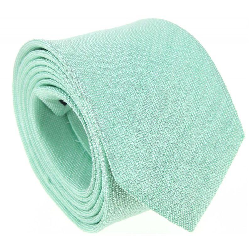 cravate vert d 39 eau en lin et soie natt e parme maison. Black Bedroom Furniture Sets. Home Design Ideas