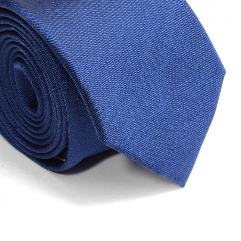 cravate bleu saphir milan ii cravates hommes maison de. Black Bedroom Furniture Sets. Home Design Ideas