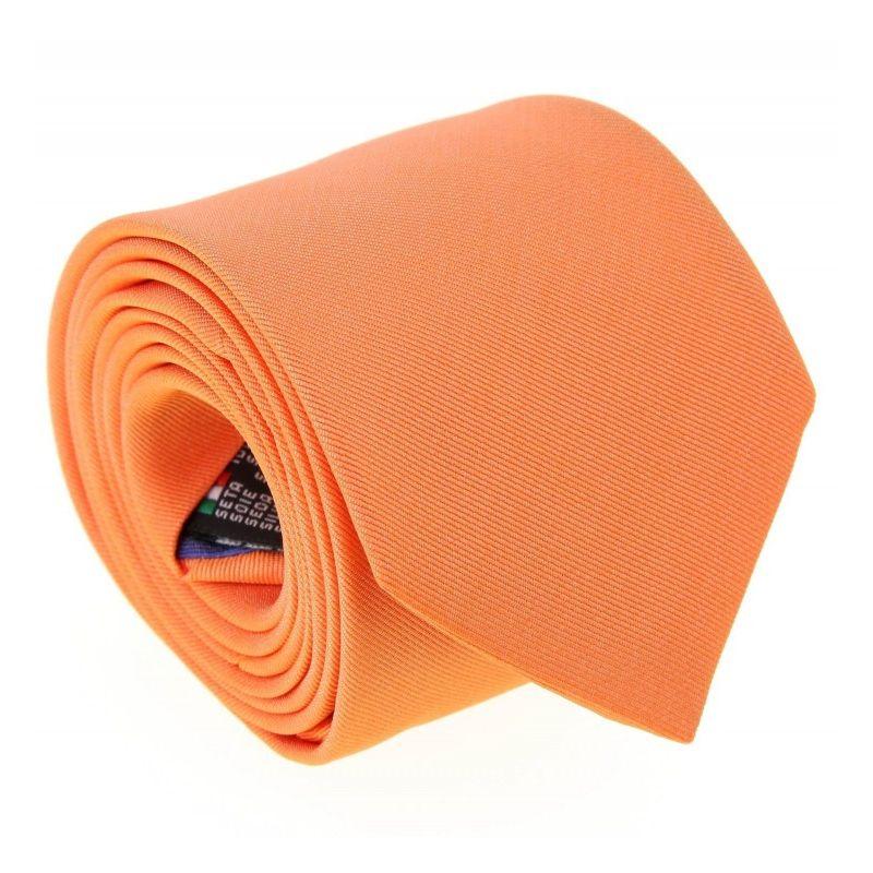 2e96dee94cdd Cravate orange Milan II - Cravates - Maison de La Cravate