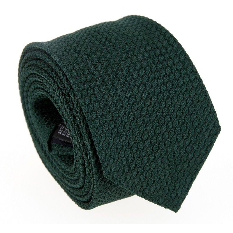 Cravate grenadine de soie The Nines verte - Grenadines III