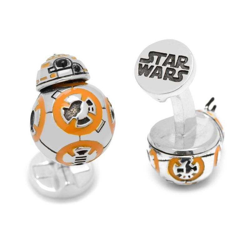 Boutons de manchette Star Wars: BB-8 fonctionnel