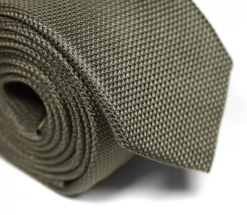 cravate h ritage en grenadine de soie de couleur kaki grenadines iii la maison de la cravate. Black Bedroom Furniture Sets. Home Design Ideas