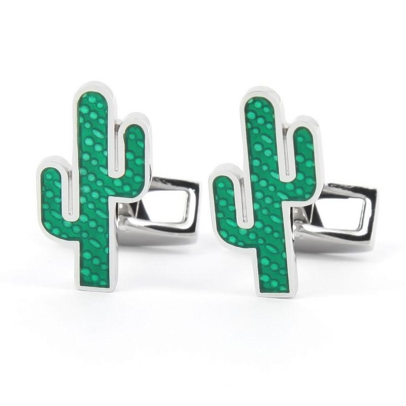 Boutons de manchette cactus vert - Marfa