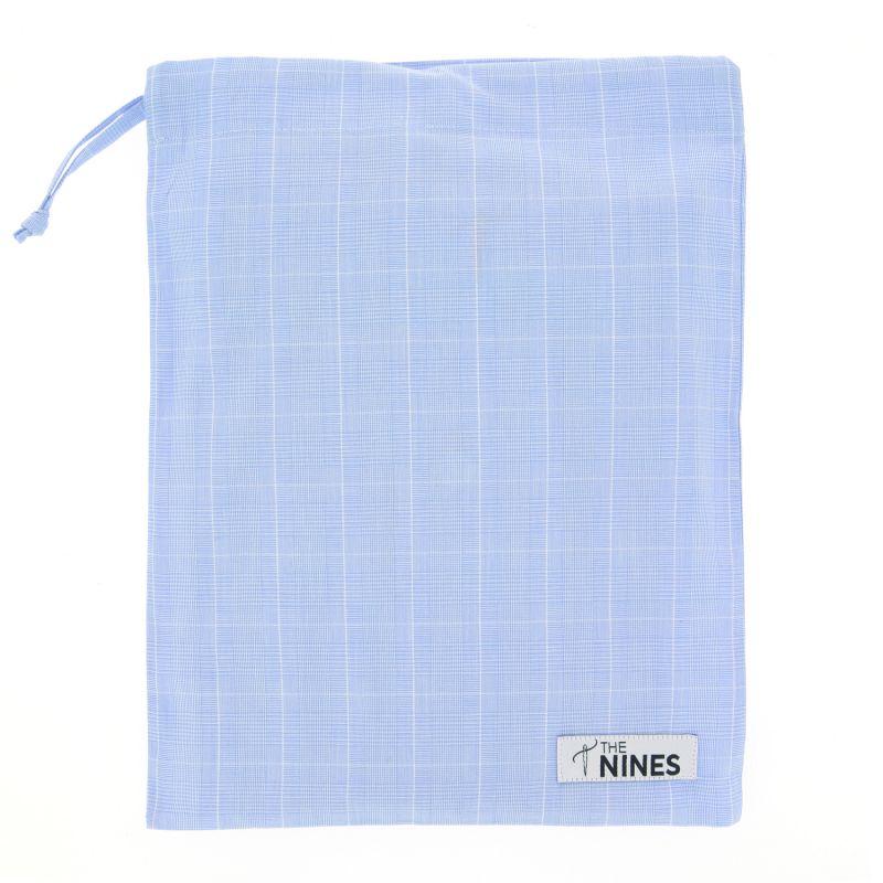 9bea823cb4200 Caleçon bleu ciel à motifs Prince de Galles - The Nines