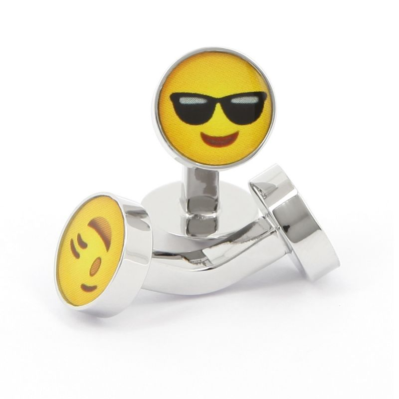 Boutons de manchette smiley Cool - Smiley City