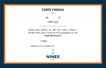 Carte Cadeau The Nines de 100€
