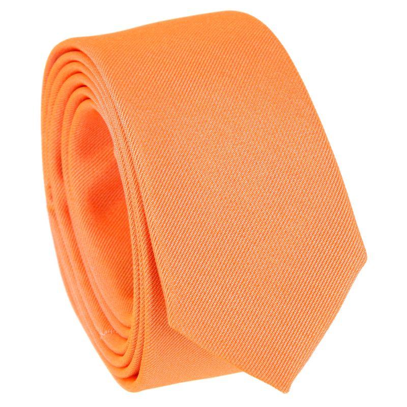 Cravate slim orange - Sienne