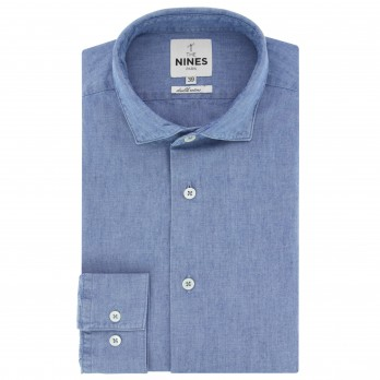 18cac30676db3 Chemise en chambray - The Nines - THE NINES