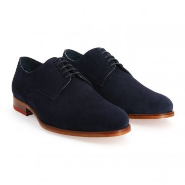 b1c05c28241 Chaussures derbies pour homme par The Nines - Marine