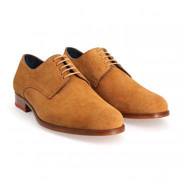 729c64b2d4151d Chaussures derbies pour homme par The Nines - Marine, Camel et ...