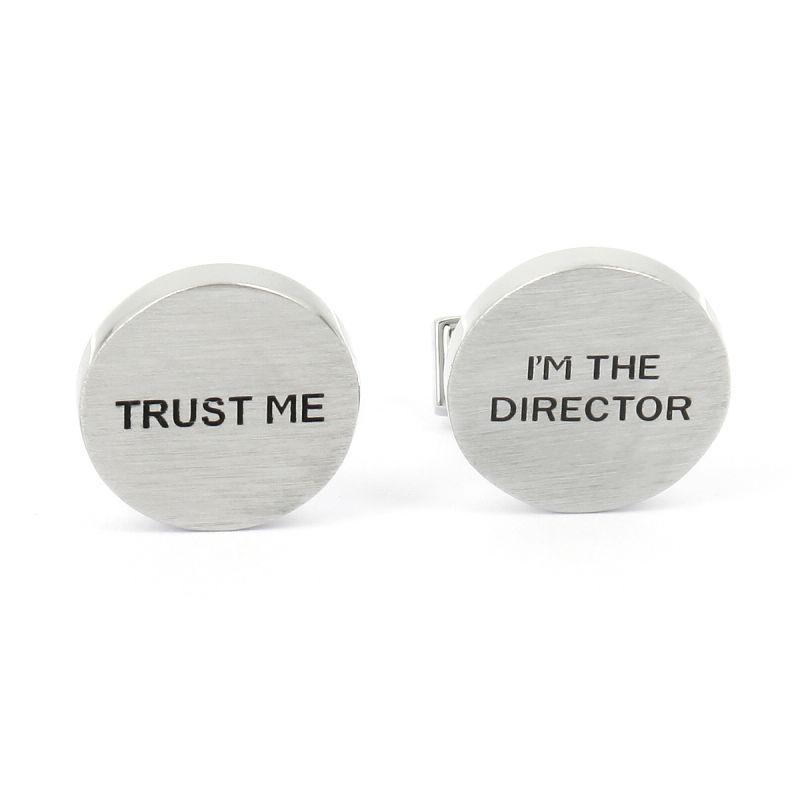 Boutons de manchette Trust Me I'm The Director