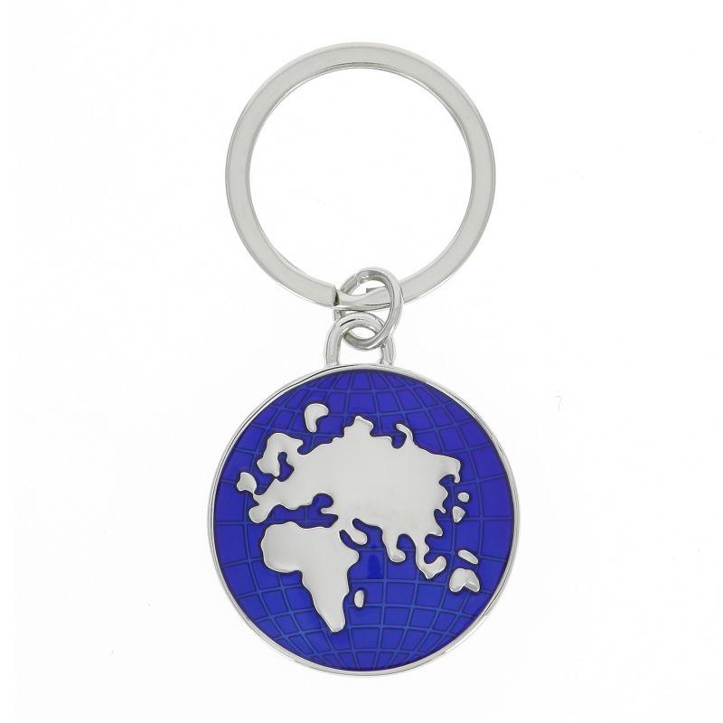 Porte-clé mappemonde - Globe trotter