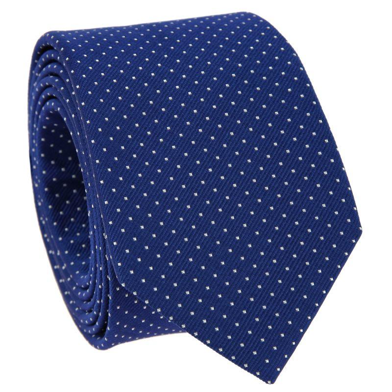 9b08c1dacc904 Cravate bleue à pois blancs - Washington DC