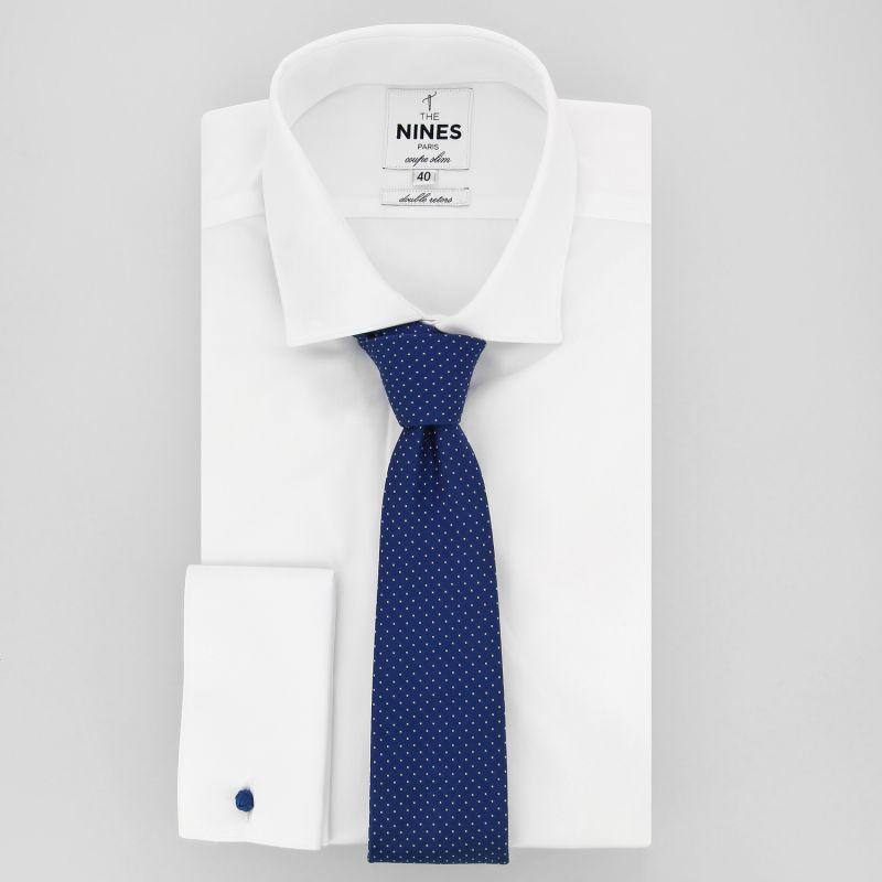 019288aa6af0e ... Cravate bleue à pois blancs - Washington DC ...