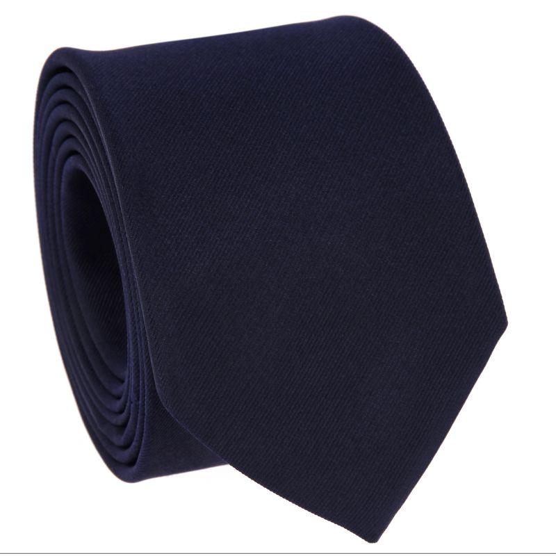 Cravate slim bleu nuit- Côme