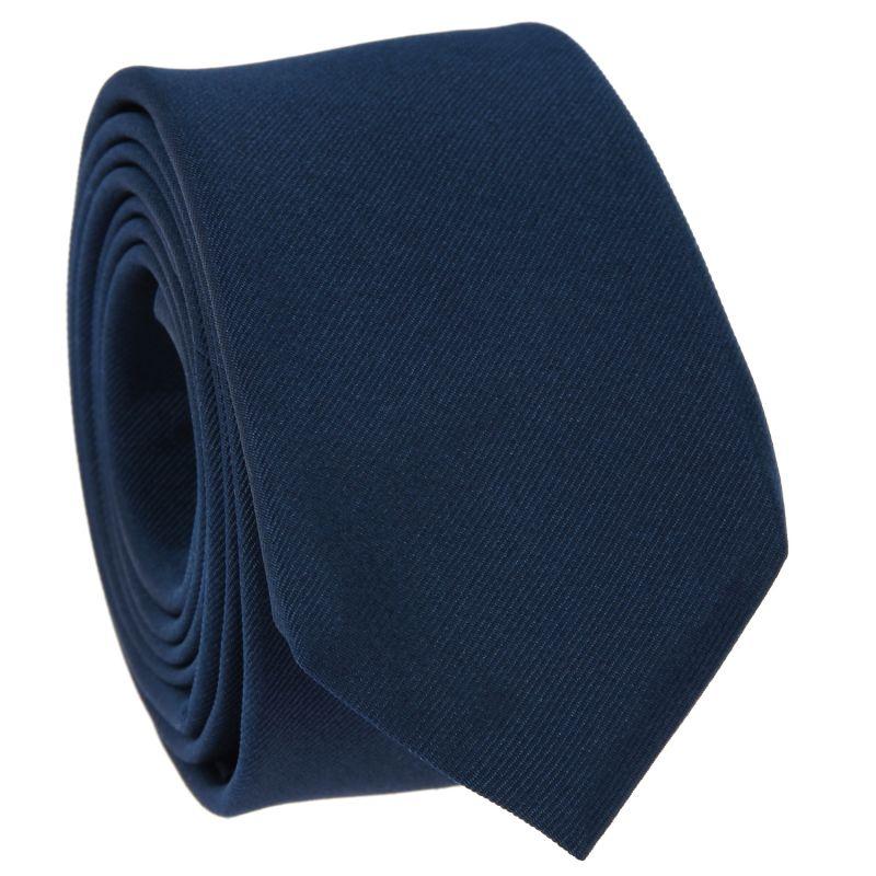 Cravate Slim Bleu minéral - Côme