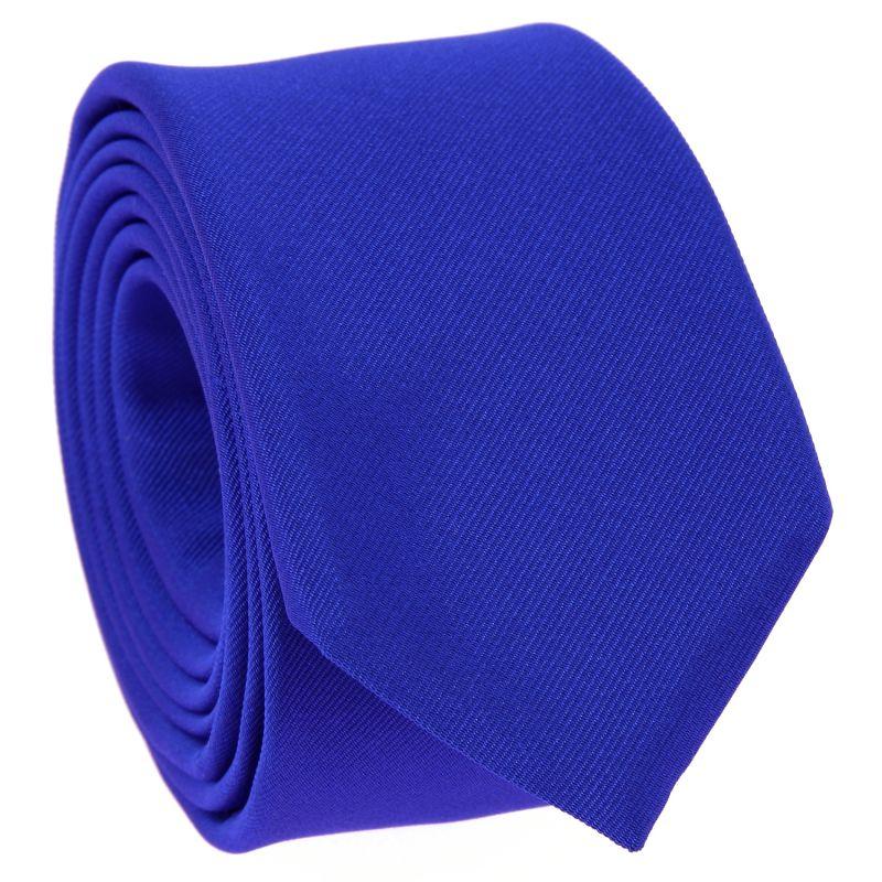 Cravate Slim Bleu électrique - Côme