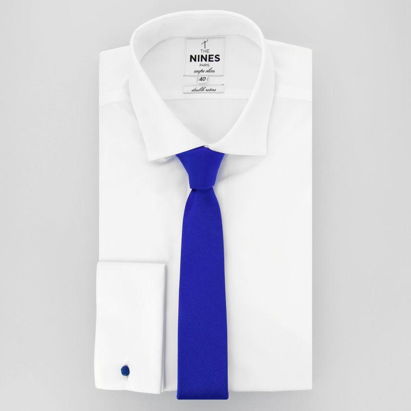 b8d5baa58f310 Cravate Slim bleu électrique - Cravates slim