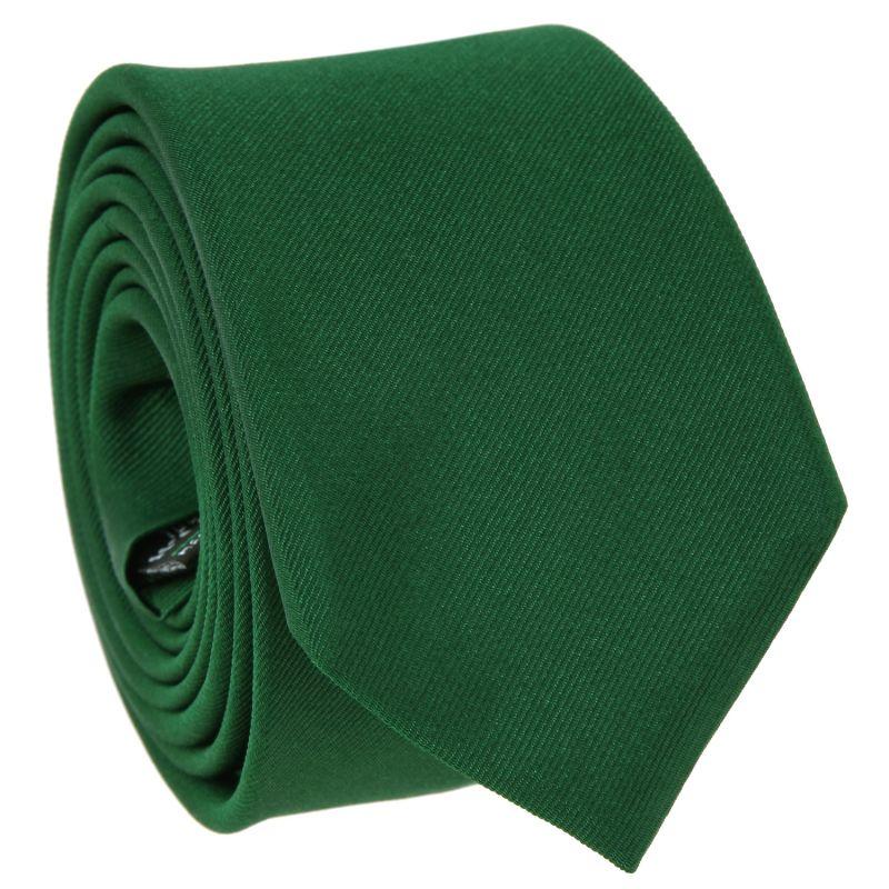Cravate slim vert anglais - Côme