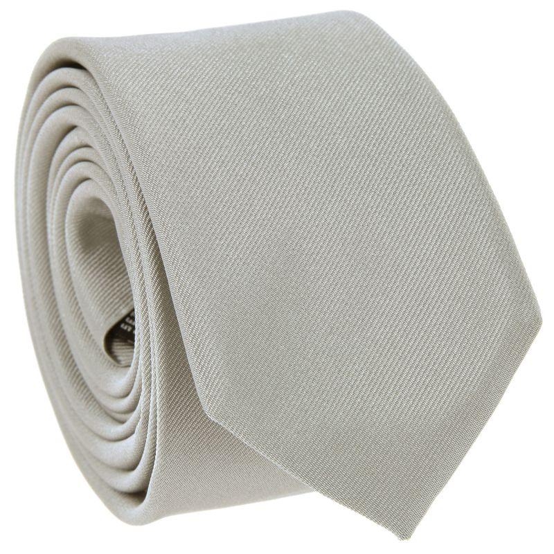 Cravate Slim Gris Perle - Côme