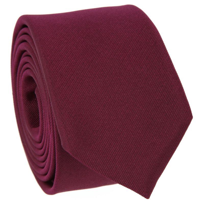 Cravate Slim Framboise - Côme