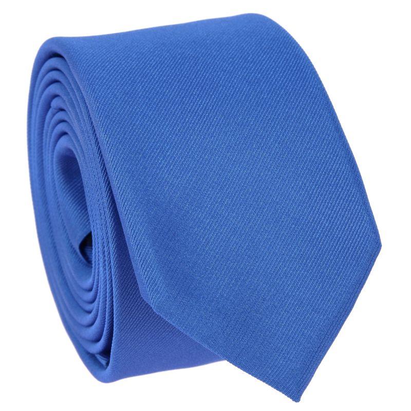 Cravate slim bleu roi - Côme