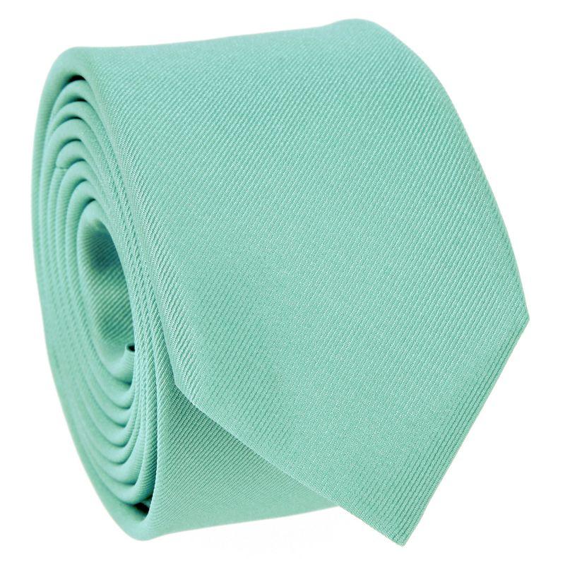Cravate slim vert d'eau - Côme