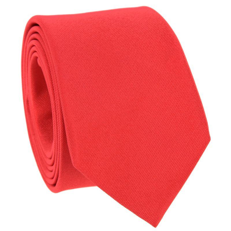 Cravate rouge corail - Côme
