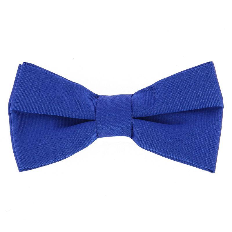 Nœud Papillon bleu cobalt en soie - Côme