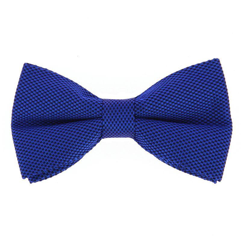 Nœud Papillon bleu cobalt en soie nattée - Saint-Honoré