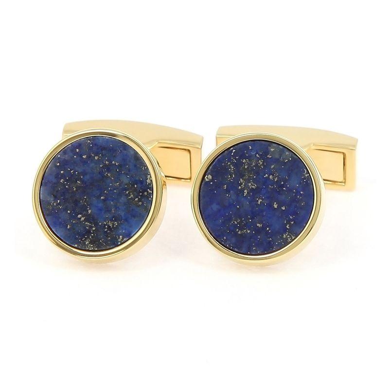 Boutons de manchette lapis-lazuli - Vienne