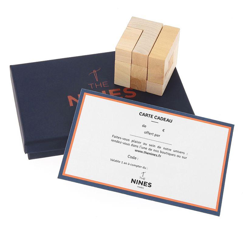Carte Cadeau Casse-Tête 50€