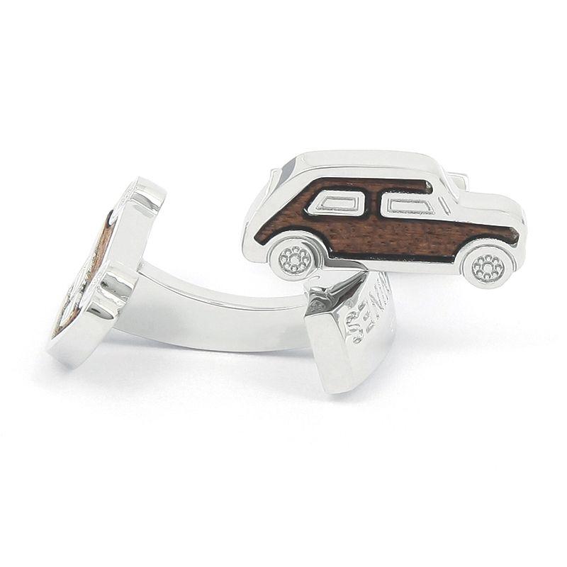Boutons de manchette voiture en bois - Mini