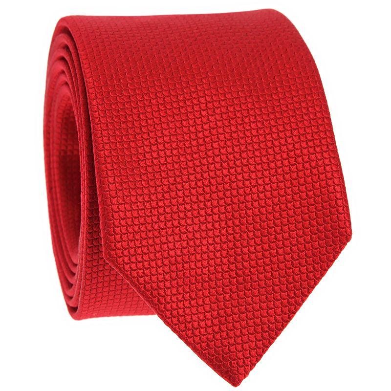 Cravate motif japonais seigaiha rouge