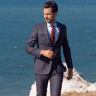 Le costume 365 - Prince-de-galles gris