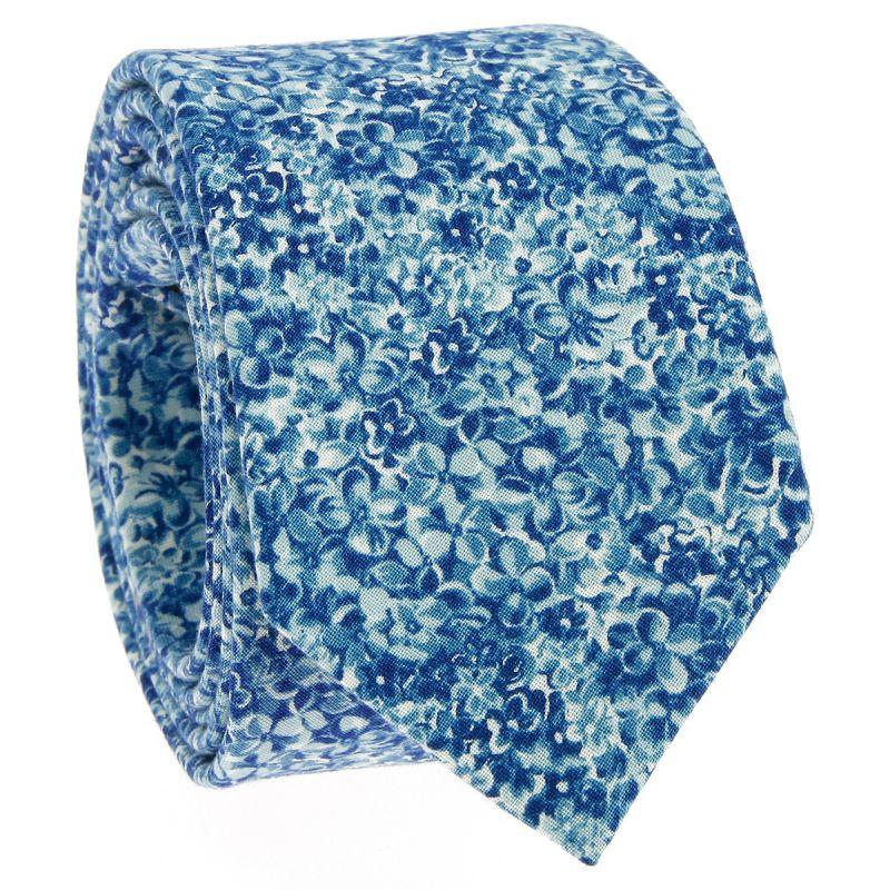 Cravate Liberty bleue - Osaka