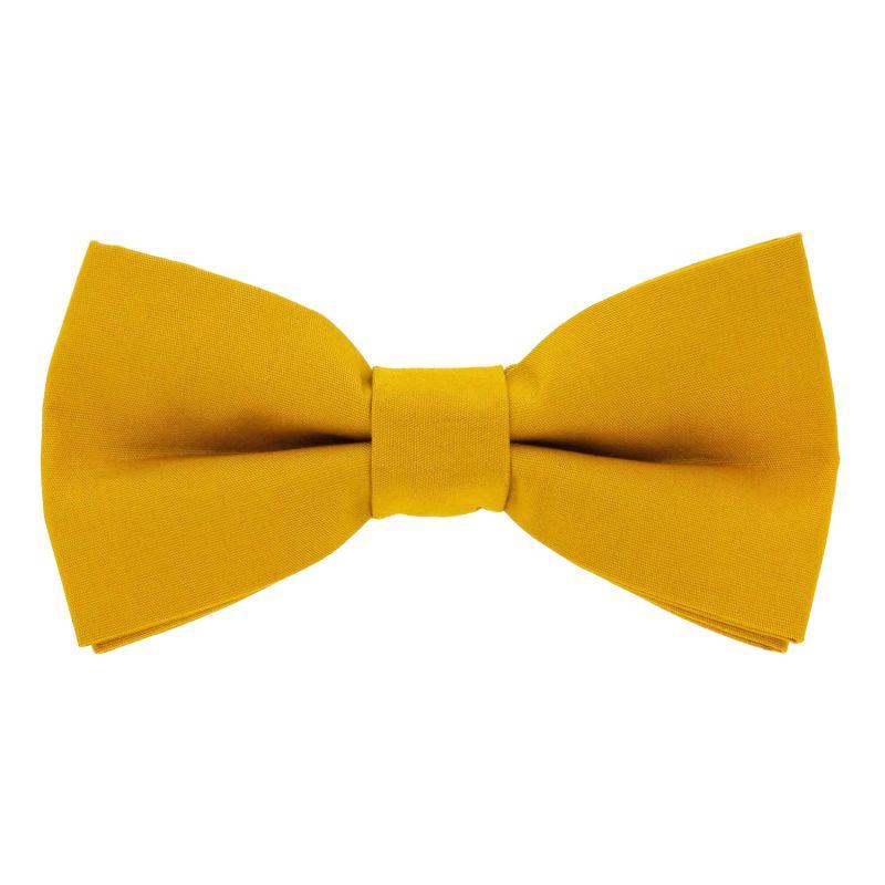 Noeud papillon jaune moutarde - Sorrente