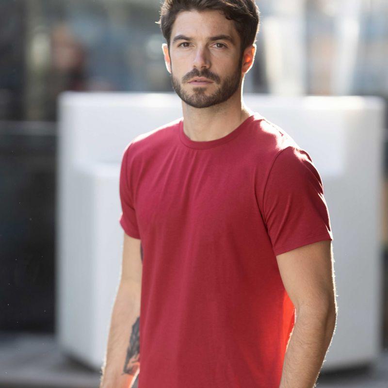 T-shirt Technique rouge Syrah
