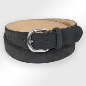 CEINTURE MORGAN ANTHRACITE SUEDE