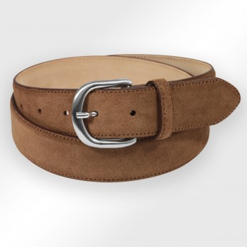 CEINTURE MORGAN MARRON KINDER SUEDE