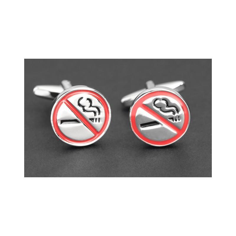 Boutons de manchette No Smoking