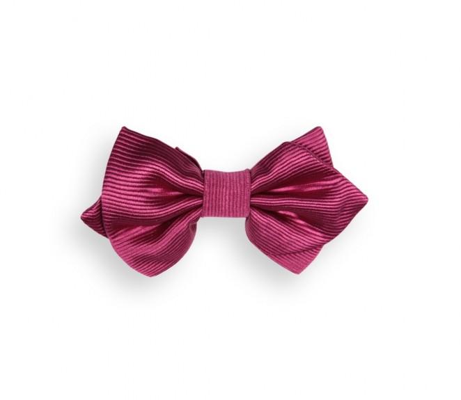 N ud papillon framboise tilbury ii la maison de la cravate - La maison de la cravate ...