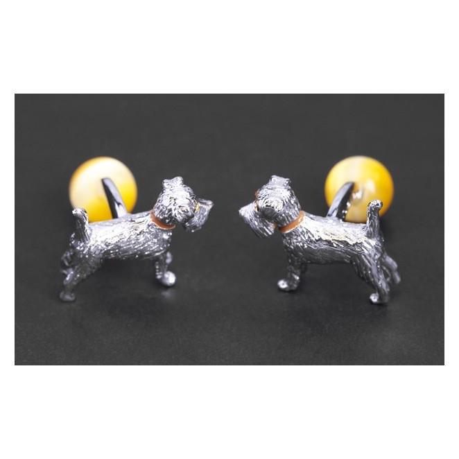 Boutons de manchette Tateossian - Animals Fox Terrier