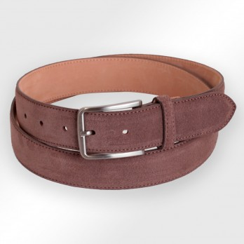 CEINTURE TOM CAFE SUEDE