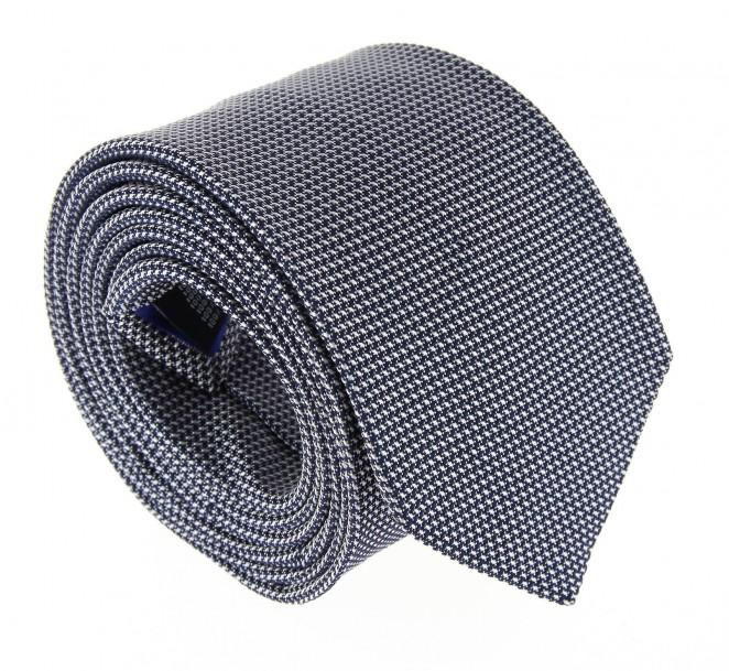 Cravate hackett bleu marine faux uni la maison de la cravate - La maison de la cravate ...