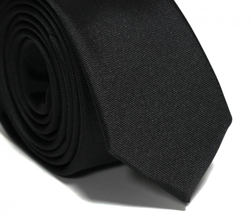 Cravate slim noire - Sienne II